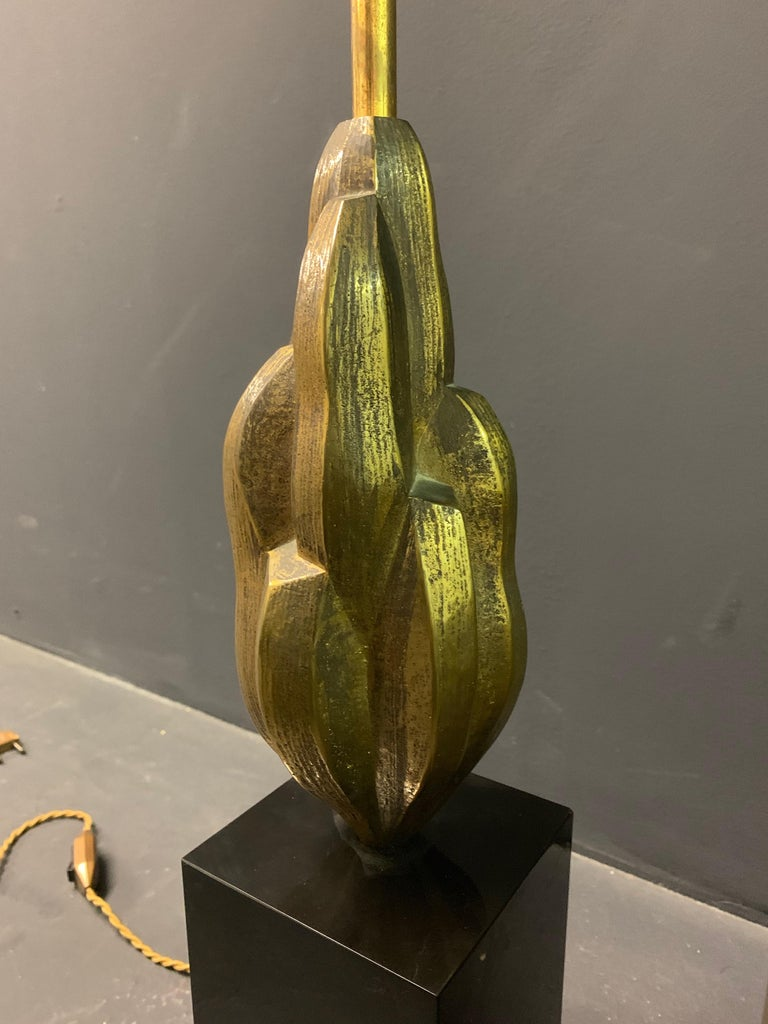 Very Rare Abstract Art Maison Charles Lamp / Signed In Good Condition For Sale In Munich, DE