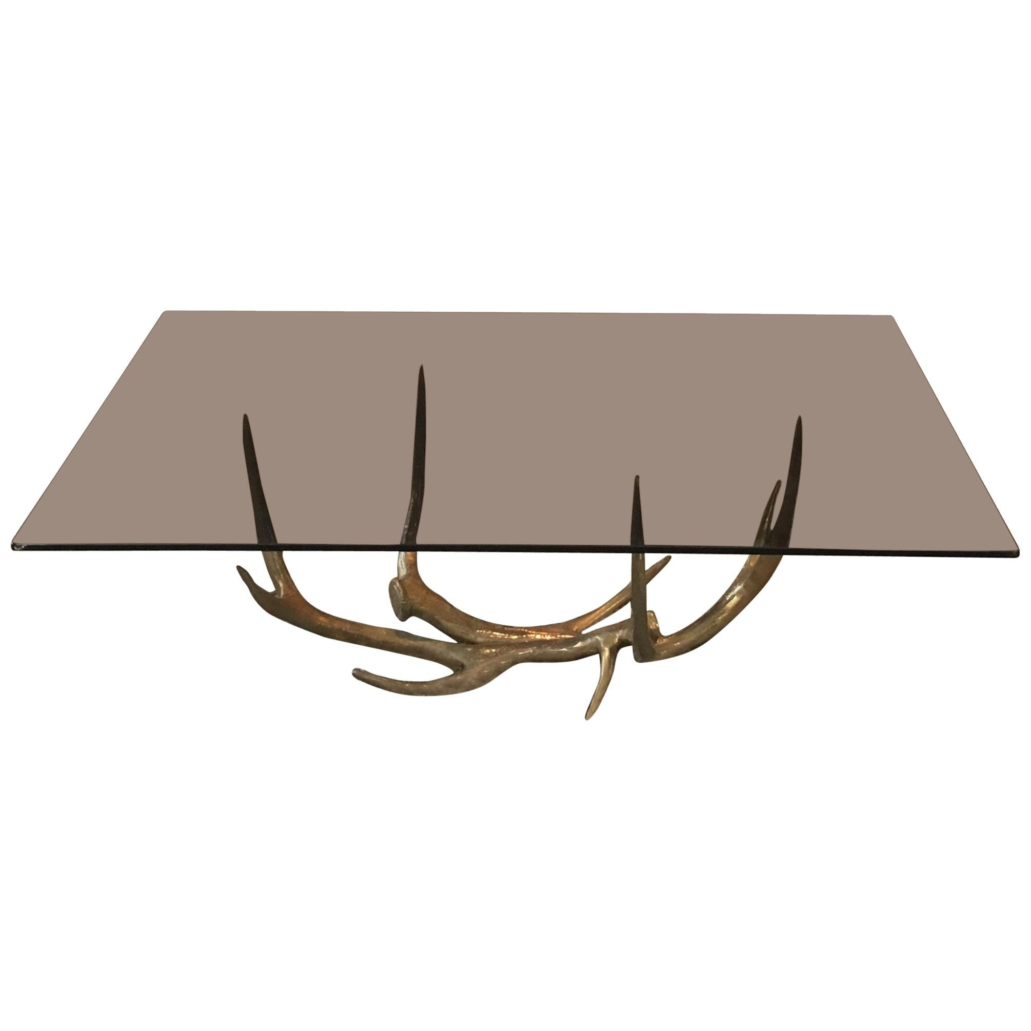 Attrayant Antler Coffee Table
