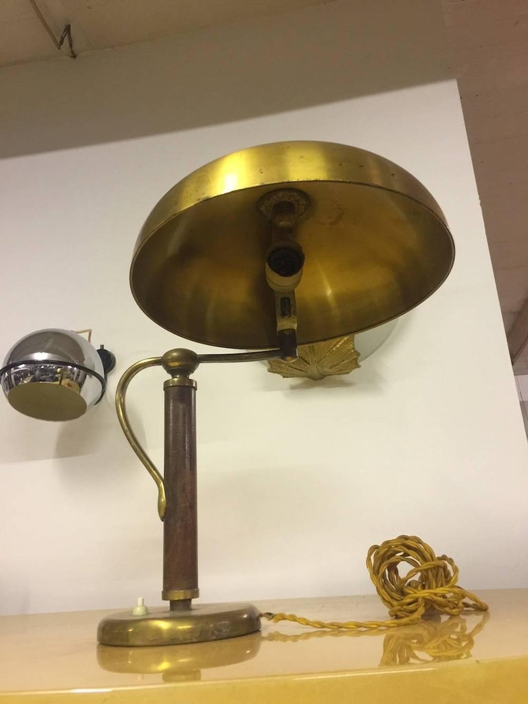 Very Rare and Exclusive Alfed Müller Table Lamp For Sale 1