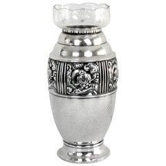 Very Rare Art Nouveau Vase, Carl M Cohr, Denmark, 1900s