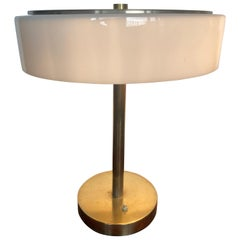 Very Rare Bauhaus Brass Table Lamp by Franta Anyz for House by Adolf Loos, 1930s