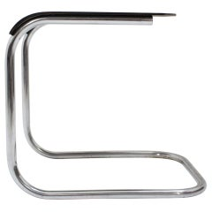Very Rare Bauhaus Chrome Stool or Mart Stam, 1930s