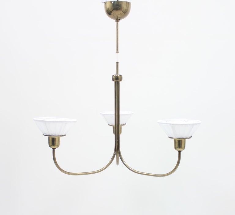 Very Rare Ceiling Light, Model 2558 by Josef Frank for Svenskt Tenn, circa 1954 For Sale 4