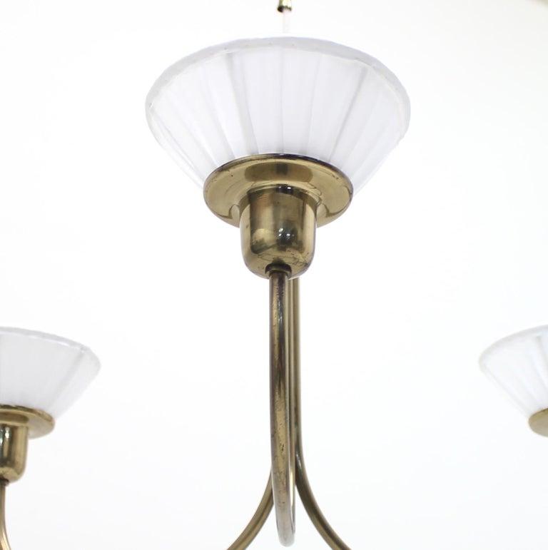Very Rare Ceiling Light, Model 2558 by Josef Frank for Svenskt Tenn, circa 1954 For Sale 5