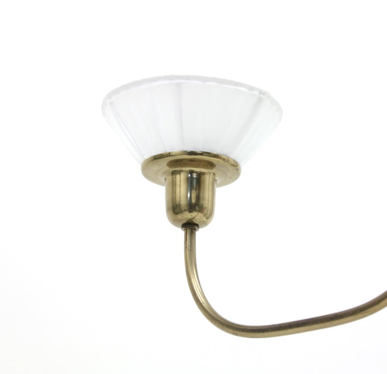 Very Rare Ceiling Light, Model 2558 by Josef Frank for Svenskt Tenn, circa 1954 For Sale 6