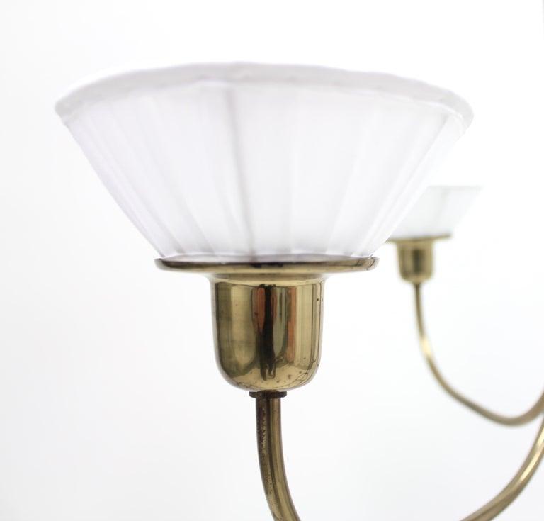 Very Rare Ceiling Light, Model 2558 by Josef Frank for Svenskt Tenn, circa 1954 For Sale 7