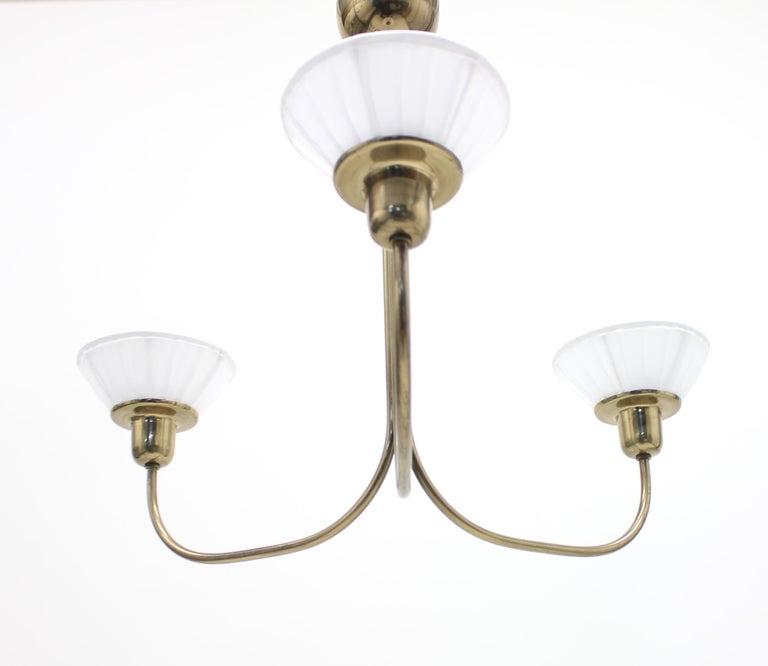 Mid-20th Century Very Rare Ceiling Light, Model 2558 by Josef Frank for Svenskt Tenn, circa 1954 For Sale