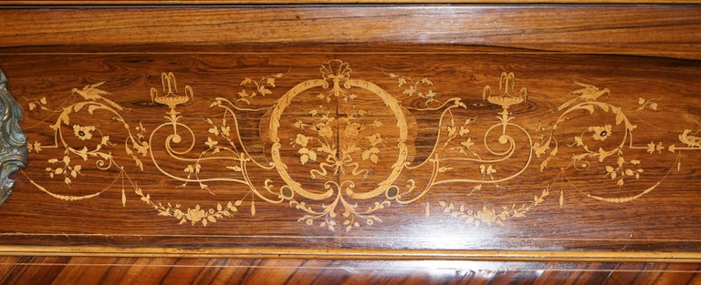 Very Rare Charles X circa 1800 Marquetry Inlaid POOL Snooker Billiards Table  7