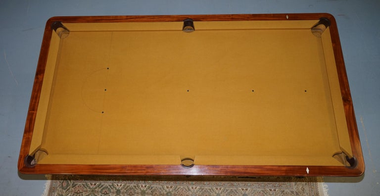 Very Rare Charles X circa 1800 Marquetry Inlaid POOL Snooker Billiards Table  9
