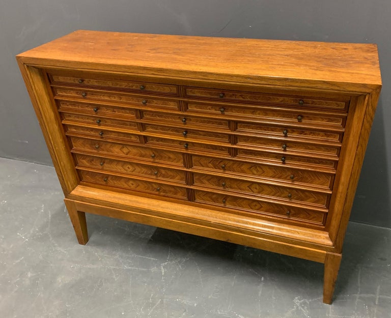 Very Rare Custom Made Collectors Cabinet For Sale 5