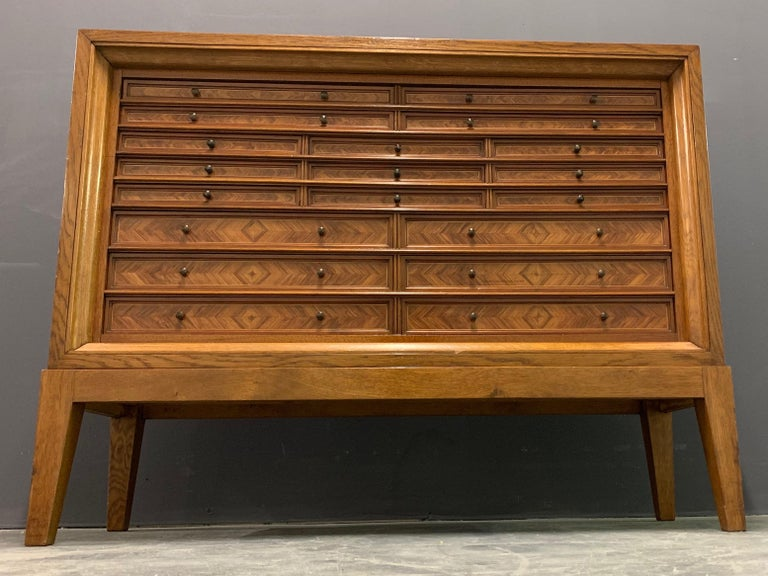 Very Rare Custom Made Collectors Cabinet For Sale 6