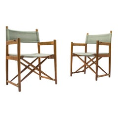 Very Rare Folding Chairs Mod. 903 by Kurt Culetto for Horgen Glarus, Swiss 1960s