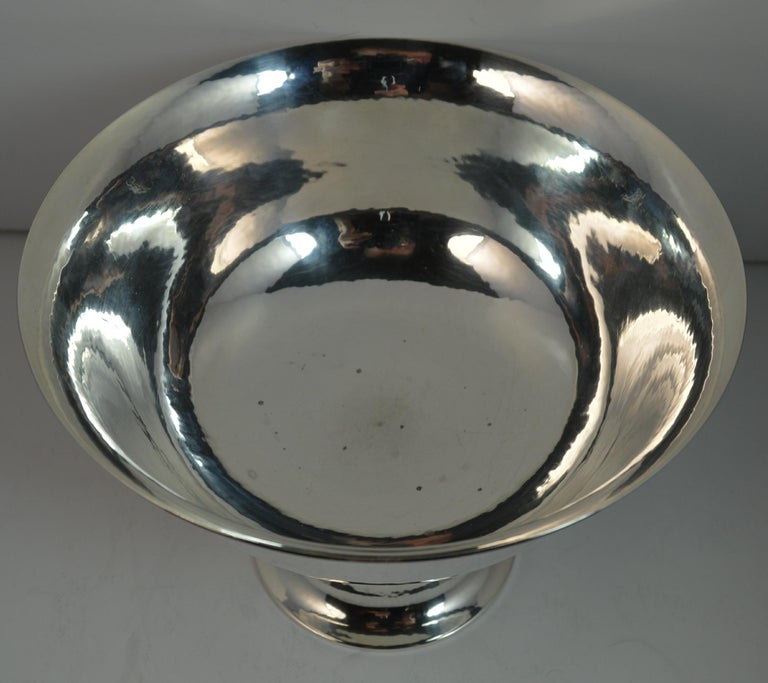 Very Rare Georg Jensen 197B Sterling Silver Bowl Dish For Sale 5