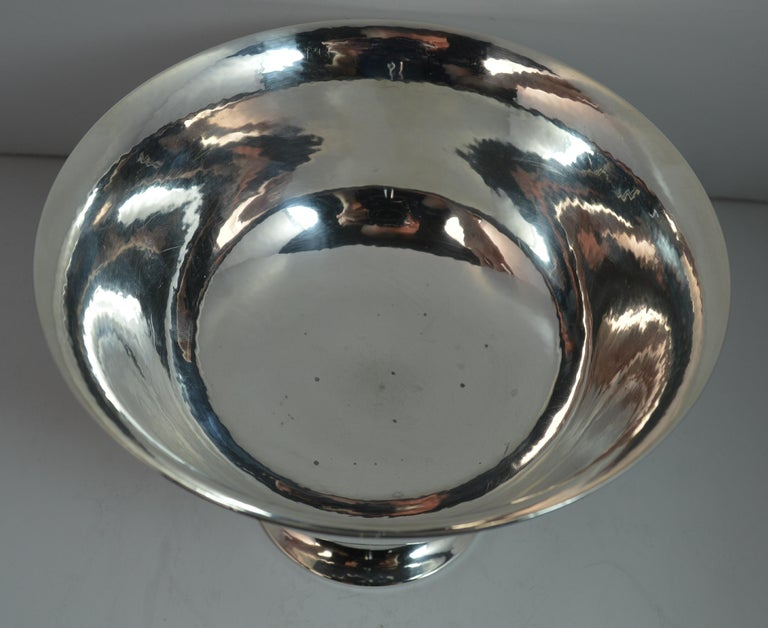 Very Rare Georg Jensen 197B Sterling Silver Bowl Dish For Sale 6