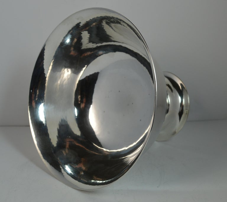 Very Rare Georg Jensen 197B Sterling Silver Bowl Dish For Sale 4