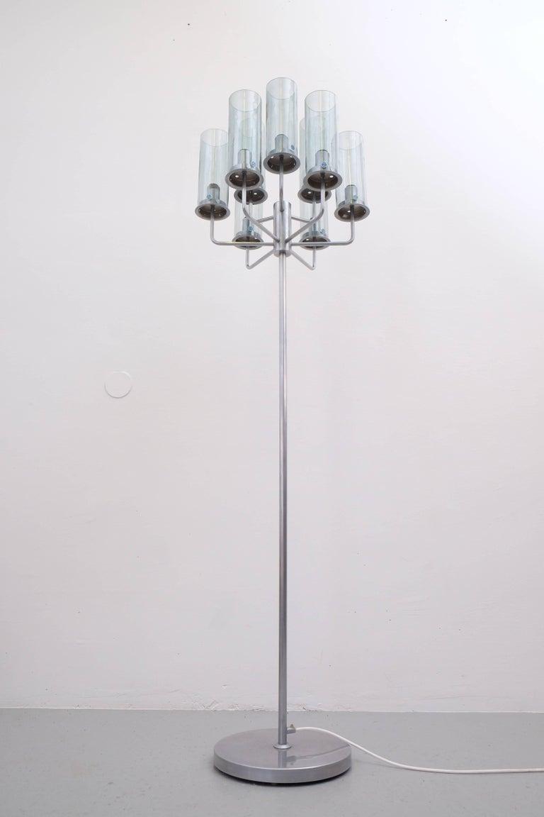 Scandinavian Modern Very Rare Hans-Agne Jakobsson Floor Lamp, 1960s For Sale