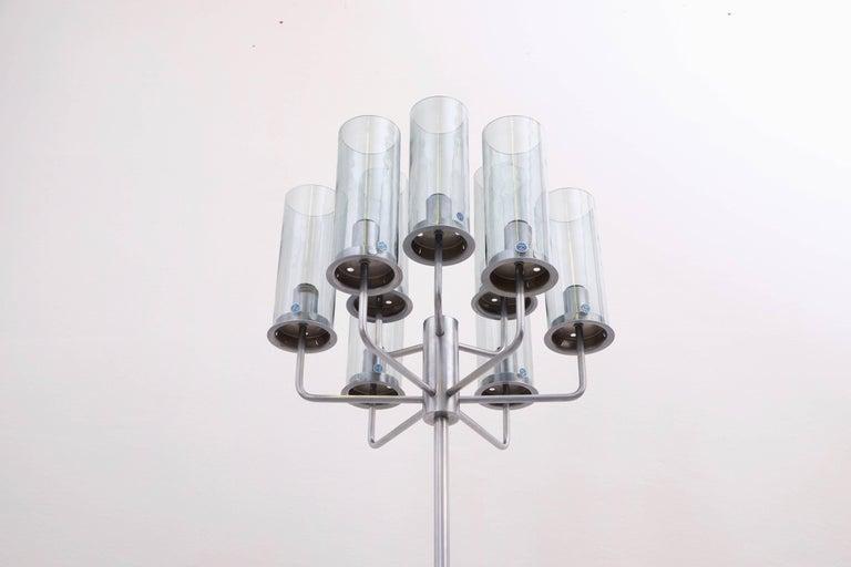 Swedish Very Rare Hans-Agne Jakobsson Floor Lamp, 1960s For Sale