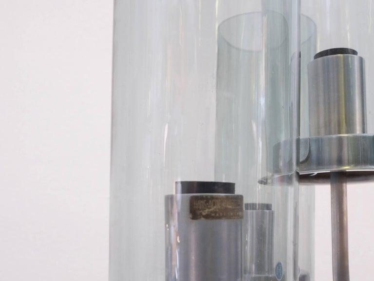 Steel Very Rare Hans-Agne Jakobsson Floor Lamp, 1960s For Sale