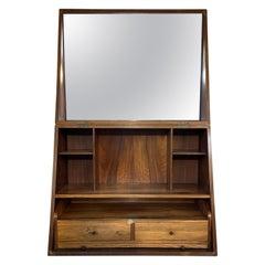 Very Rare Hardwood Vanity Unit by Poul Jensen