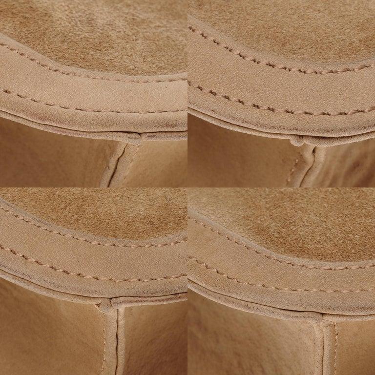 VERY RARE Hermes Constance  DOBLIS shoulder bag in sand color & Gold hardware! For Sale 6