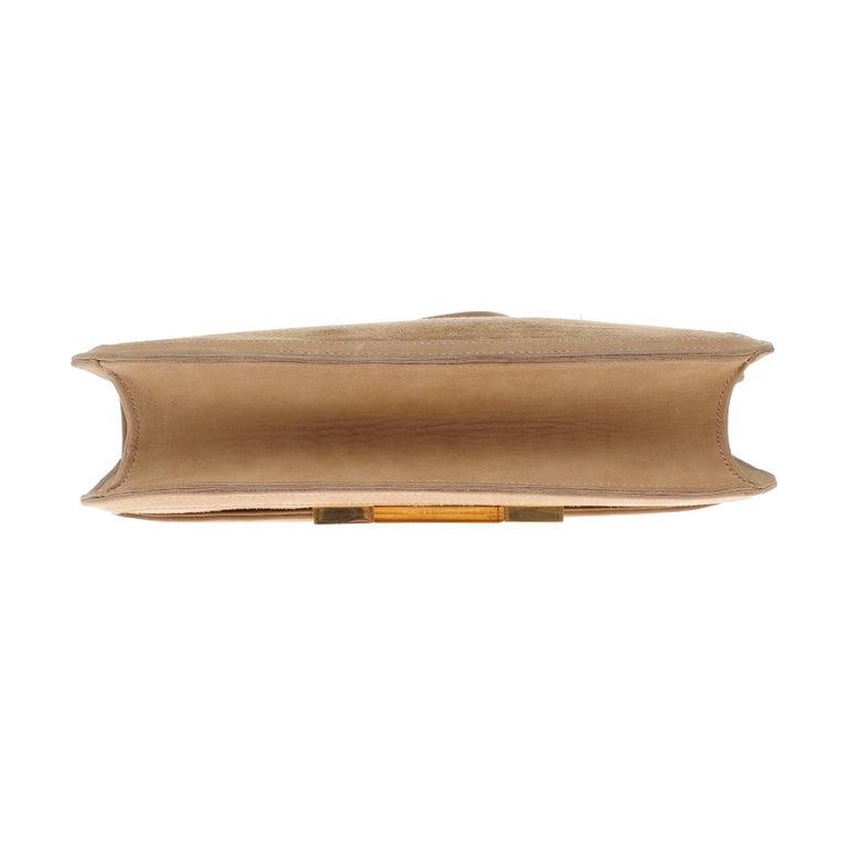 VERY RARE Hermes Constance  DOBLIS shoulder bag in sand color & Gold hardware! For Sale 5