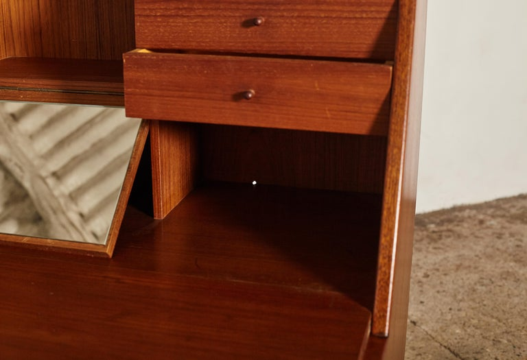 Very Rare Ib Kofod Larsen Secretary Desk / Bureau, PA Pedersen, 1954, Denmark For Sale 6