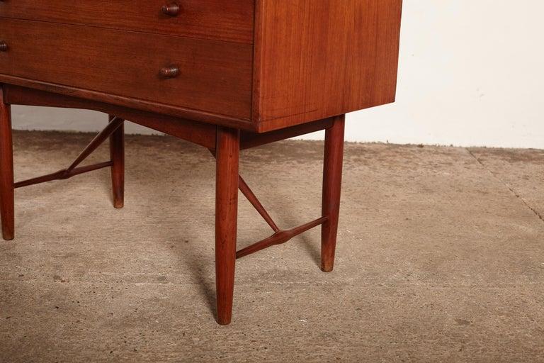 Very Rare Ib Kofod Larsen Secretary Desk / Bureau, PA Pedersen, 1954, Denmark For Sale 7