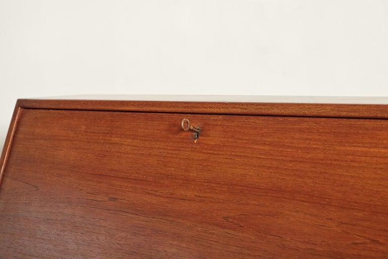 Very Rare Ib Kofod Larsen Secretary Desk / Bureau, PA Pedersen, 1954, Denmark For Sale 8