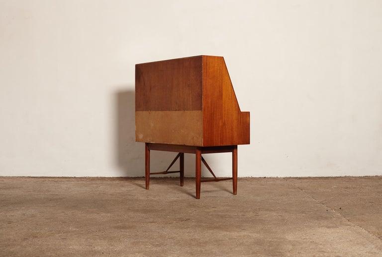 Very Rare Ib Kofod Larsen Secretary Desk / Bureau, PA Pedersen, 1954, Denmark For Sale 10
