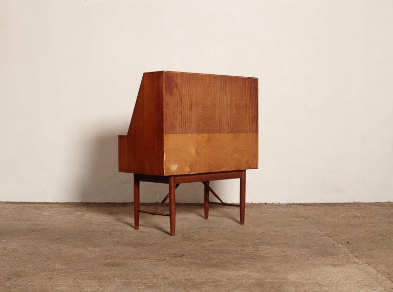 Very Rare Ib Kofod Larsen Secretary Desk / Bureau, PA Pedersen, 1954, Denmark For Sale 11