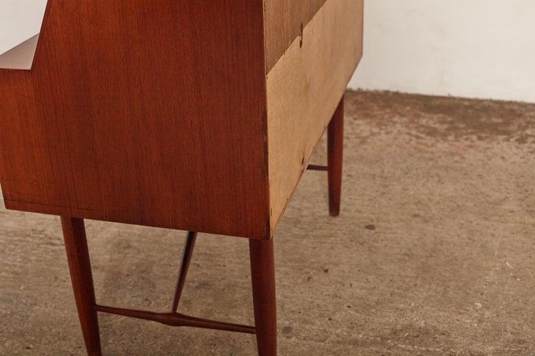 Very Rare Ib Kofod Larsen Secretary Desk / Bureau, PA Pedersen, 1954, Denmark For Sale 12