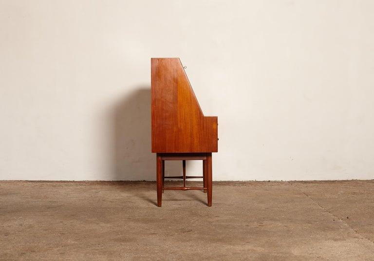 Very Rare Ib Kofod Larsen Secretary Desk / Bureau, PA Pedersen, 1954, Denmark For Sale 1
