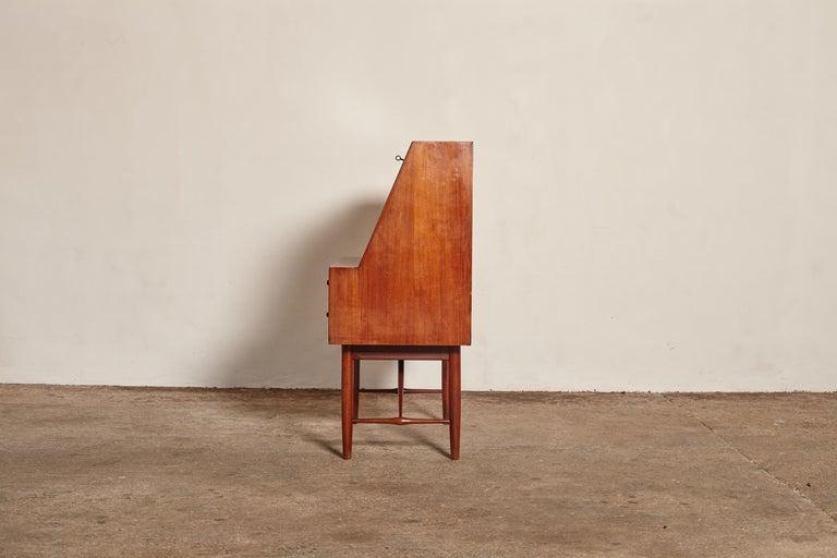 Very Rare Ib Kofod Larsen Secretary Desk / Bureau, PA Pedersen, 1954, Denmark For Sale 2