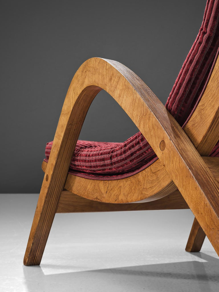 Mid-20th Century Very Rare Large Lounge Chairs by Neil Morris For Sale
