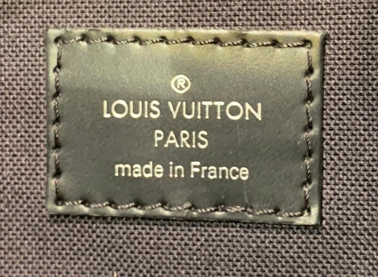 Very Rare Louis Vuitton Special Edition Christopher PM Damier Graphite Backpack  For Sale 12