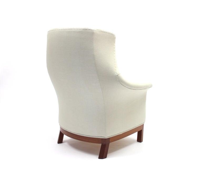 Very Rare Lounge Chair by Kerstin Hörlin-Holmquist for Nordiska Kompaniet, 1960s For Sale 1
