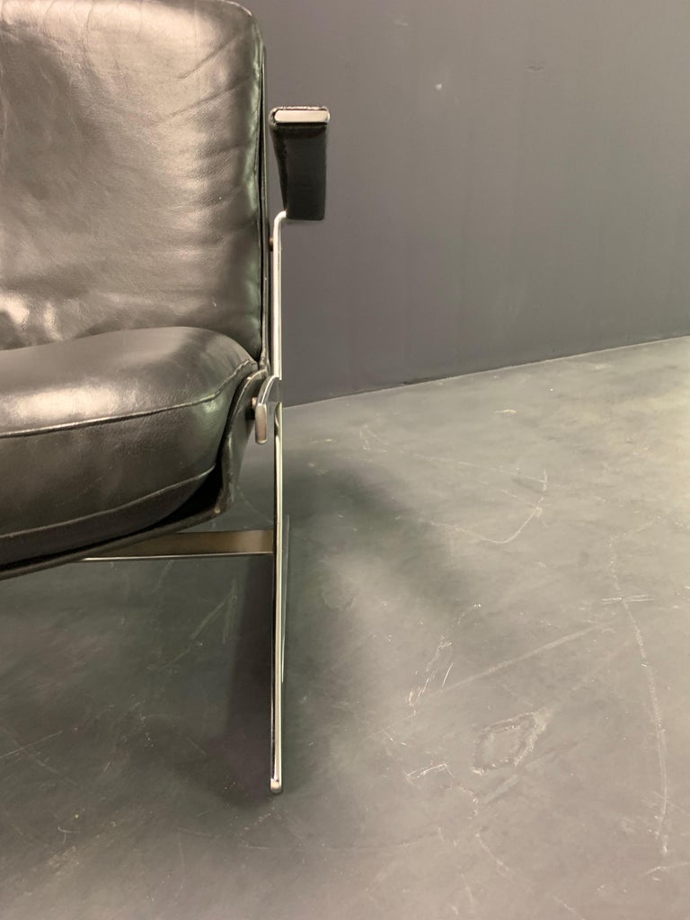 Very Rare Lounge Chair by Preben Fabricius For Sale 3