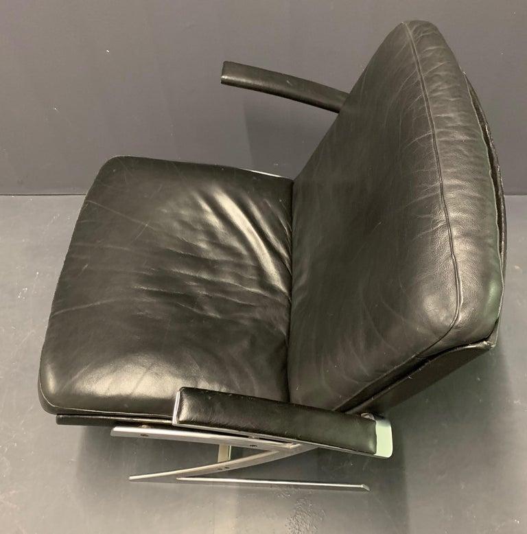 Scandinavian Modern Very Rare Lounge Chair by Preben Fabricius For Sale