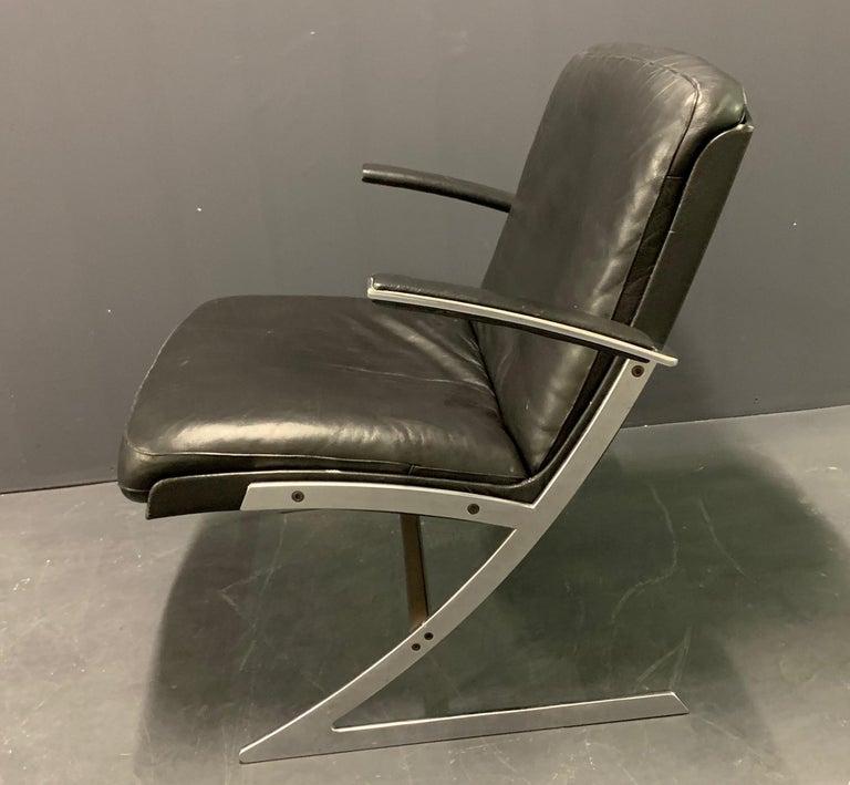 Very Rare Lounge Chair by Preben Fabricius In Good Condition For Sale In Munich, DE