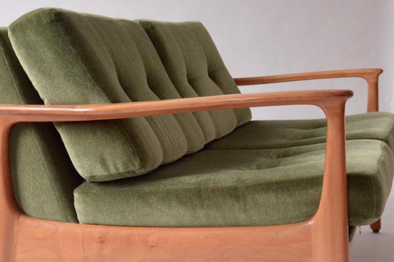 Mid-Century Modern Midcentury 2-Seater by Eugen Schmidt, 1960s For Sale