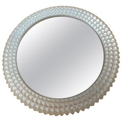 Very Rare Midcentury Backlit Mirror, 1970s