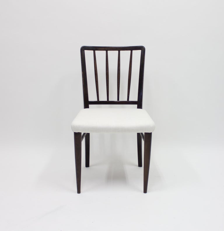 Very Rare Model O.K. Chairs by Axel Einar Hjorth for Nordiska Kompaniet, 1930s For Sale 3