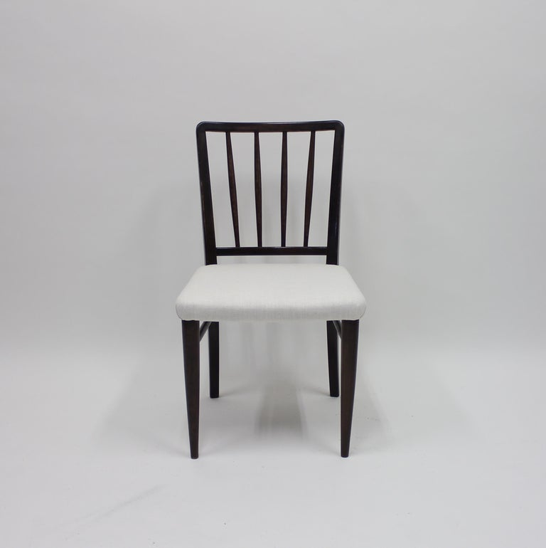 Very Rare Model O.K. Chairs by Axel Einar Hjorth for Nordiska Kompaniet, 1930s For Sale 4