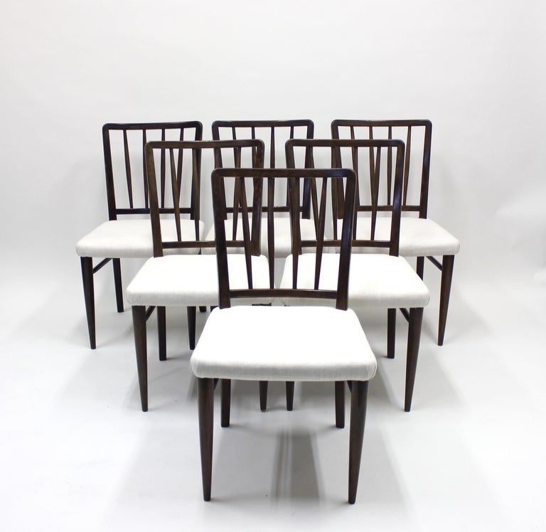 Scandinavian Modern Very Rare Model O.K. Chairs by Axel Einar Hjorth for Nordiska Kompaniet, 1930s For Sale