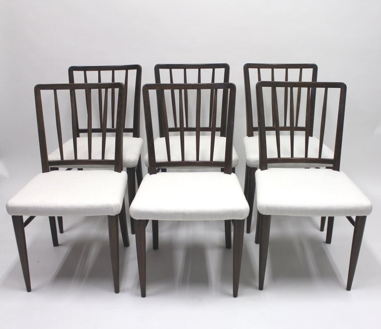 Very Rare Model O.K. Chairs by Axel Einar Hjorth for Nordiska Kompaniet, 1930s In Good Condition For Sale In Uppsala, SE