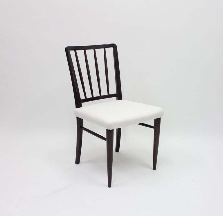 Very Rare Model O.K. Chairs by Axel Einar Hjorth for Nordiska Kompaniet, 1930s For Sale 1