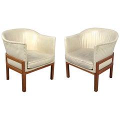 Very Rare Mogens Koch MK51 Lounge Chairs by Ivan Schlechter
