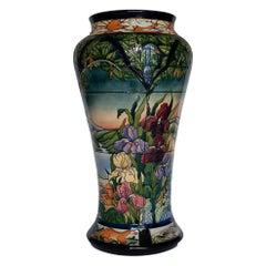 """Very Rare Moorcroft """"Paramore"""" Vase by Rachel Bishop, circa 2002"""