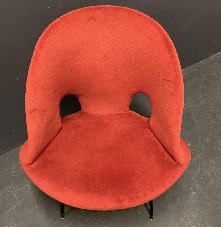 Very Rare No.350 Chair by Arno Votteler In Good Condition For Sale In Munich, DE