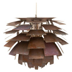 "Very Rare Original ""artichoke lamp"" by Poul Henningsen"